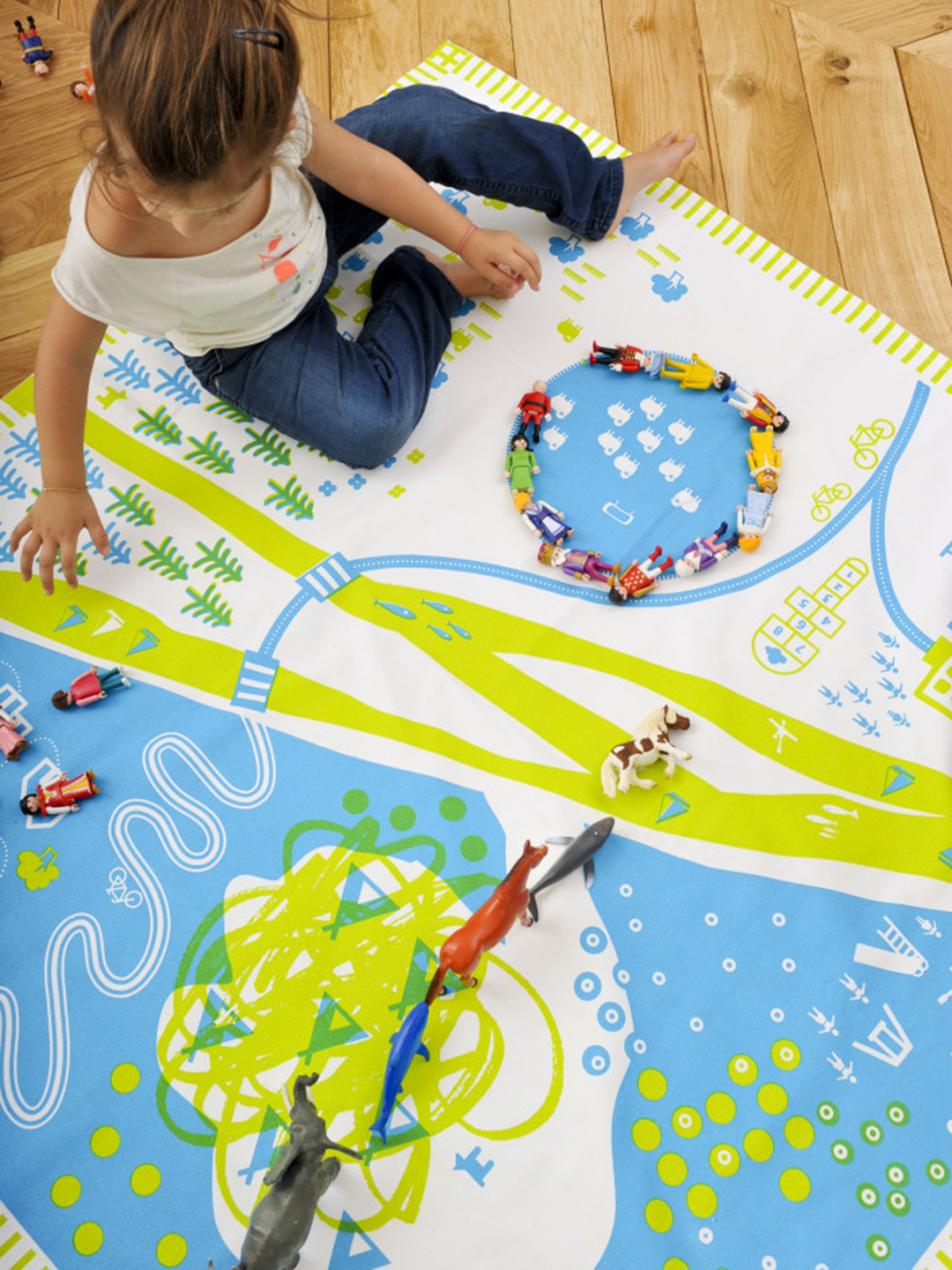Nature Organic Cotton Playmat