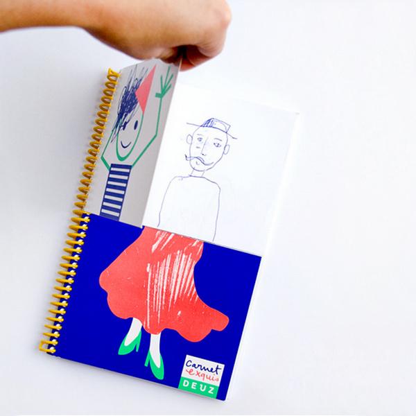 Mix & Match Sketchbook - People