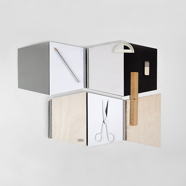 Trapecio Notebook Black
