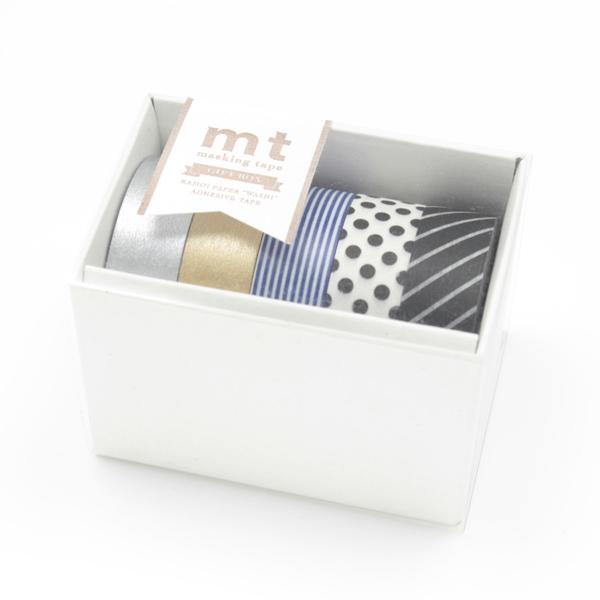 mt Masking Tape Monochrome Gift Box