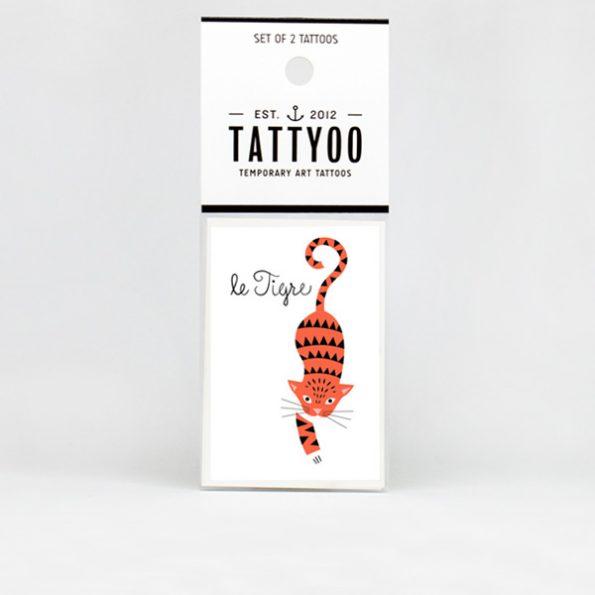 Tattyoo Le Tigre Tattoo