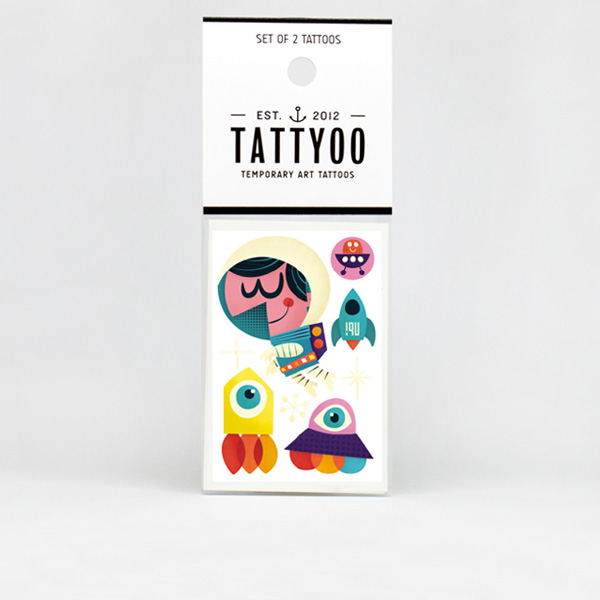 Tattyoo Space Tattoo