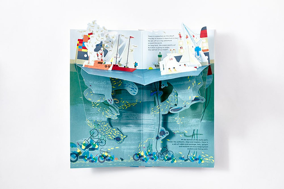 Under The Ocean Pop-Up Book
