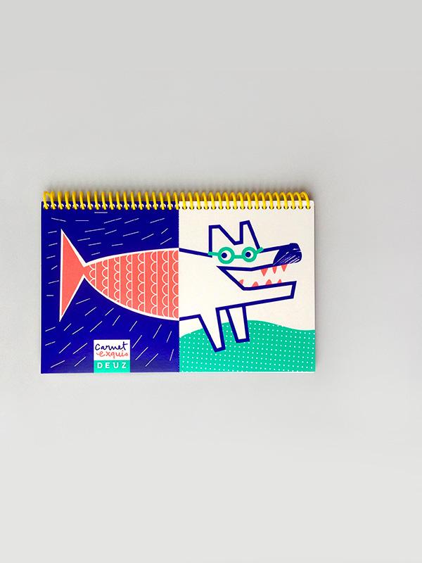 Mix & Match Sketchbook - Wolf