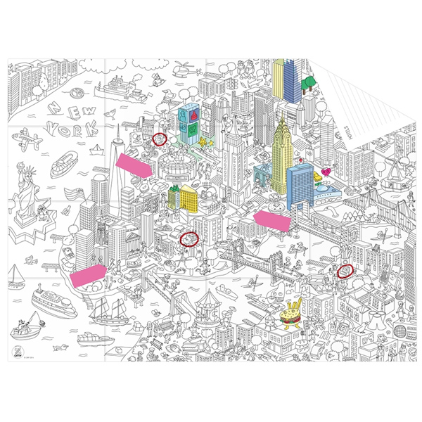 OMY Pocketmap New York