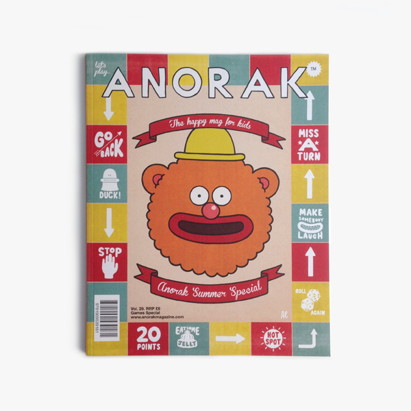 Anorak Magazine - Games