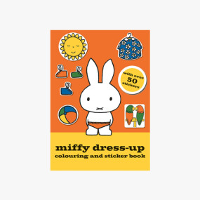 Miffy Dress-up Colouring and Sticker Book - Mr P Shop