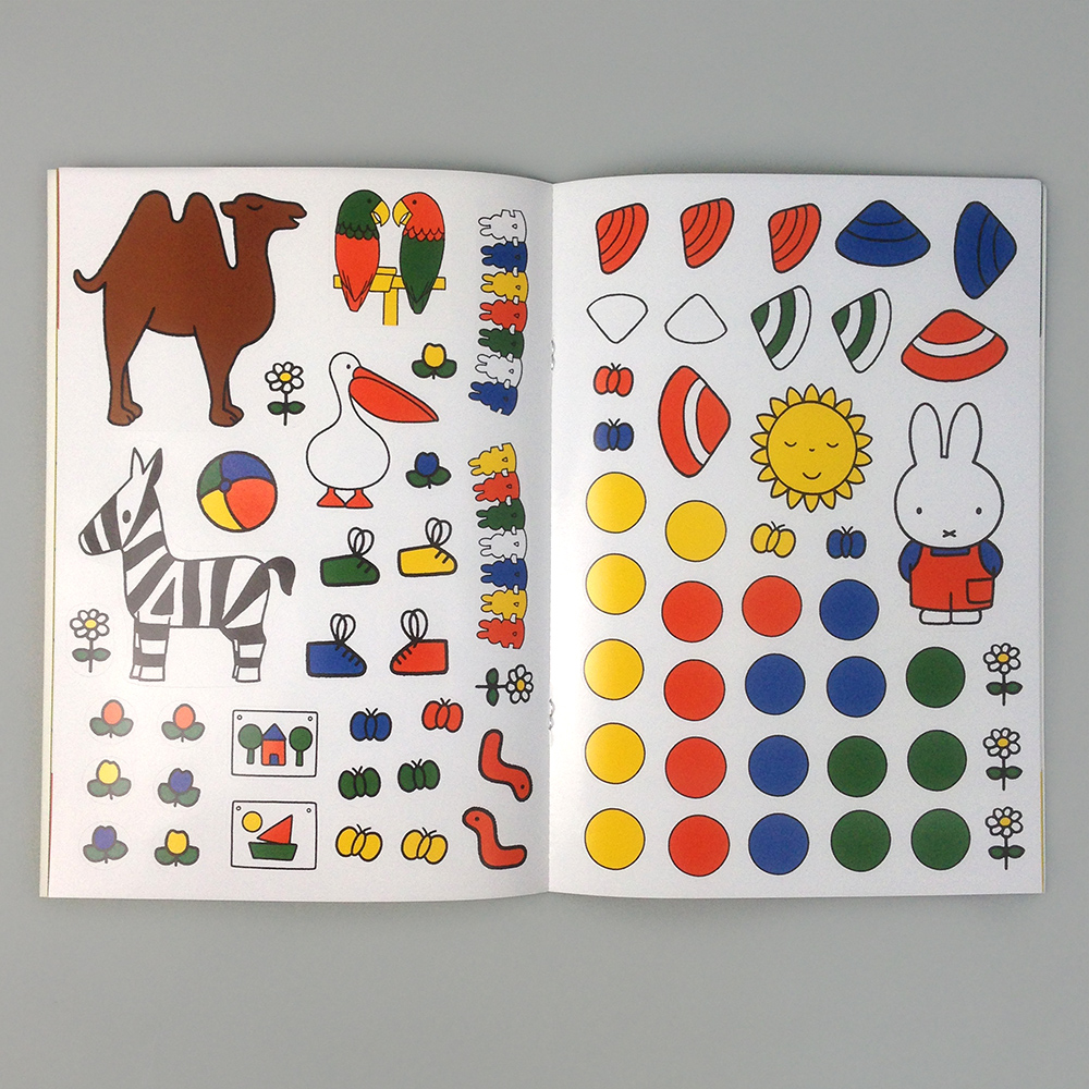 Home books coloring amp activities miffy dress up coloring sticker