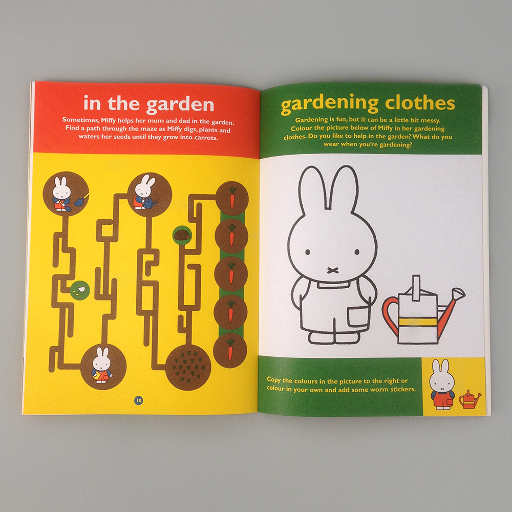 Home 187 books 187 miffy dress up coloring sticker book