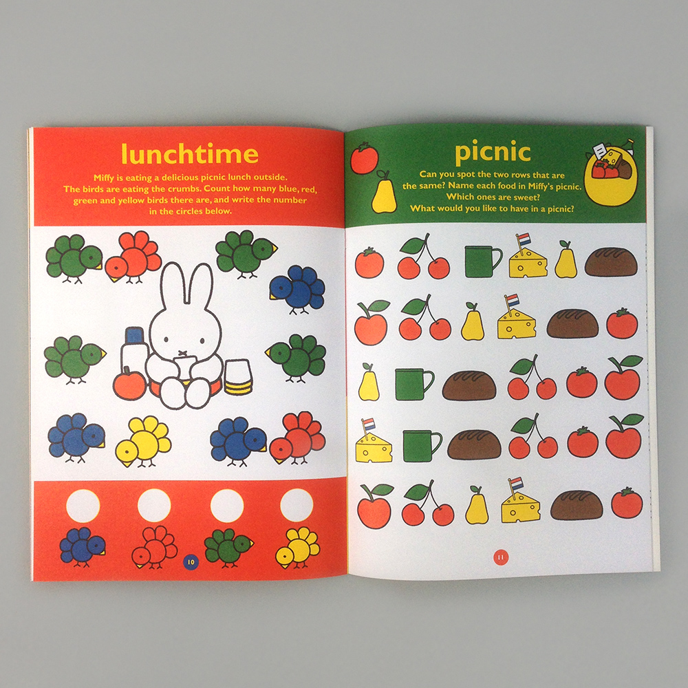 Miffy S Day Sticker Activity Book Moon Picnic