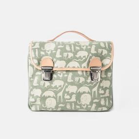Fanny & Alexander Animal print satchel
