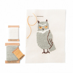 Owl Needlepoint Kit by Fanny & Alexander