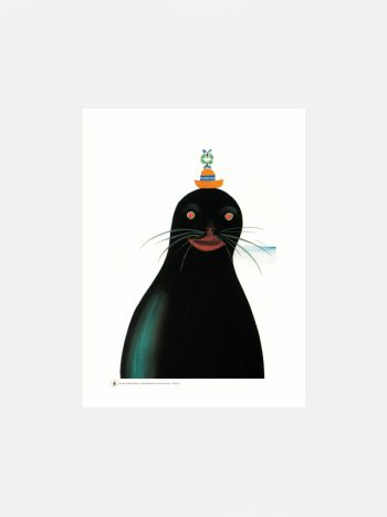 Bruno Munari Large Seal fine art print
