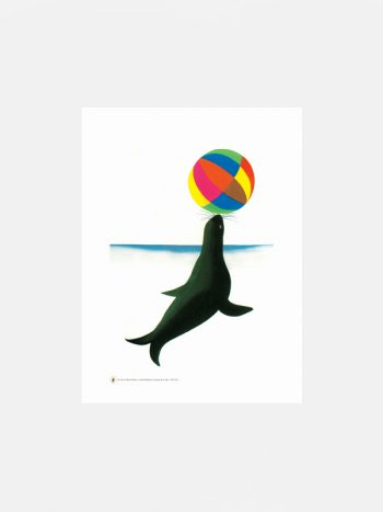 Bruno Munari Seal fine art print