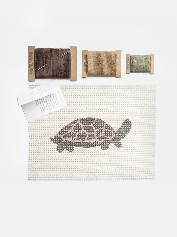 Themed Needlepoint Kit - Turtle