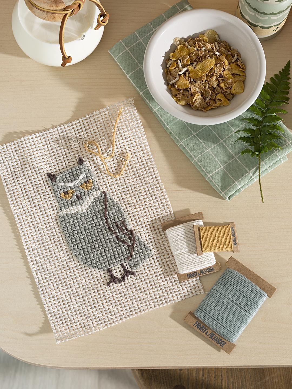Cross Stitch Kit - Owl