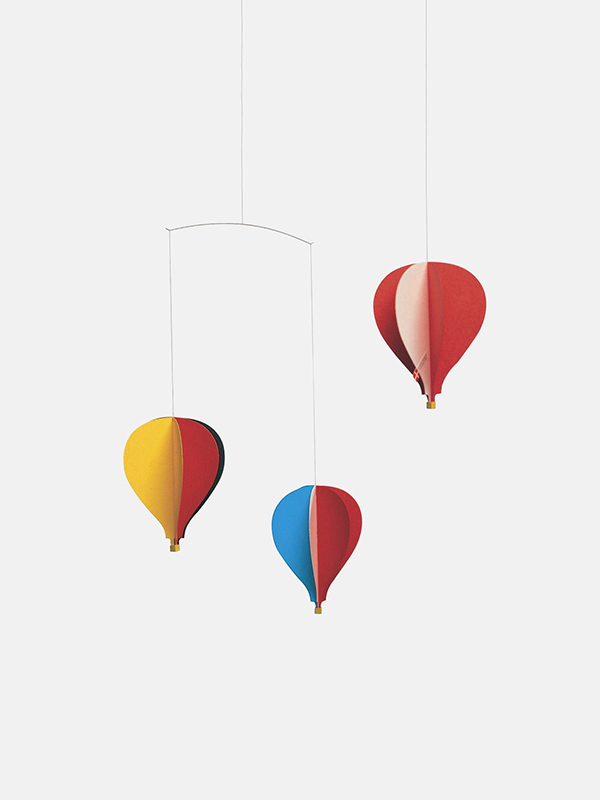 3 Hot Air Balloons Mobile