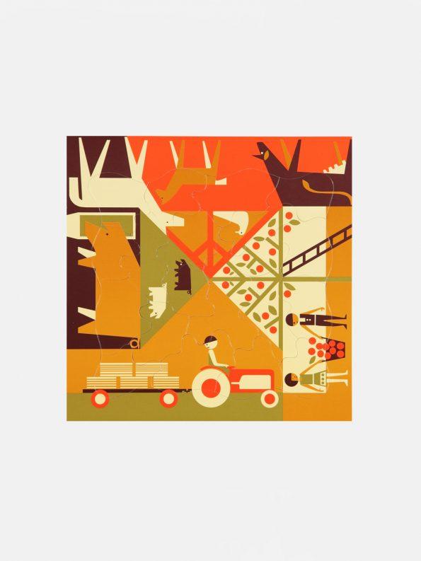 Multi-view Puzzle – Farming