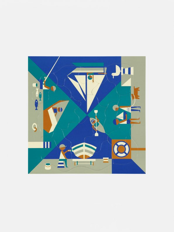 Multi-view Puzzle – Seaside