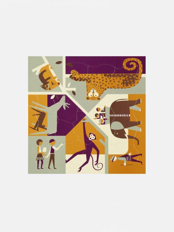 Multi-view Puzzle – Zoo