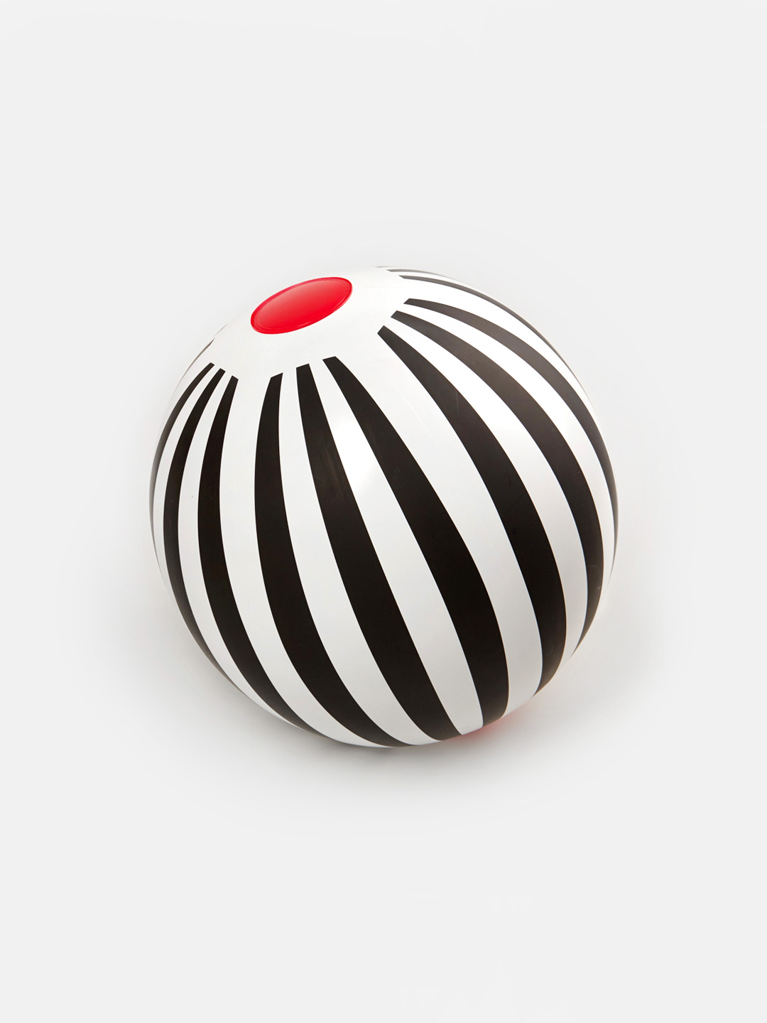 Beach Ball - Black Stripes