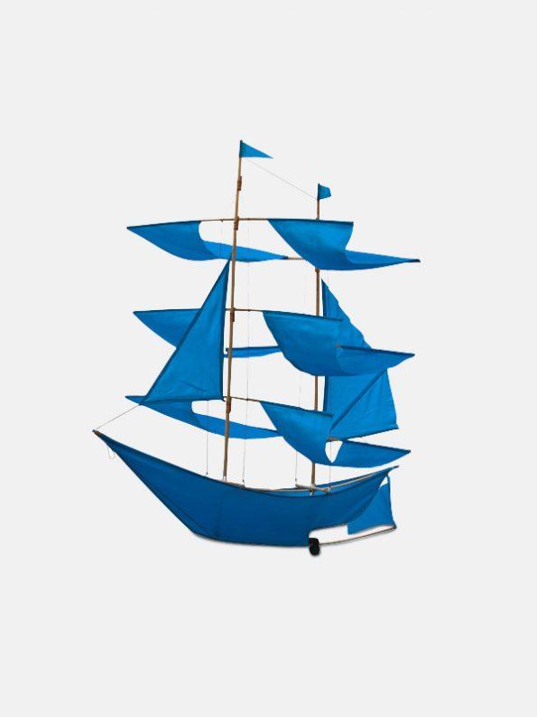 Sailing Ship Kite Azure