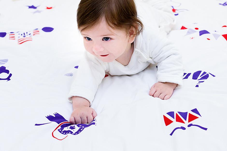 Deuz - Cosy Organic Cotton Baby Mat - Circus