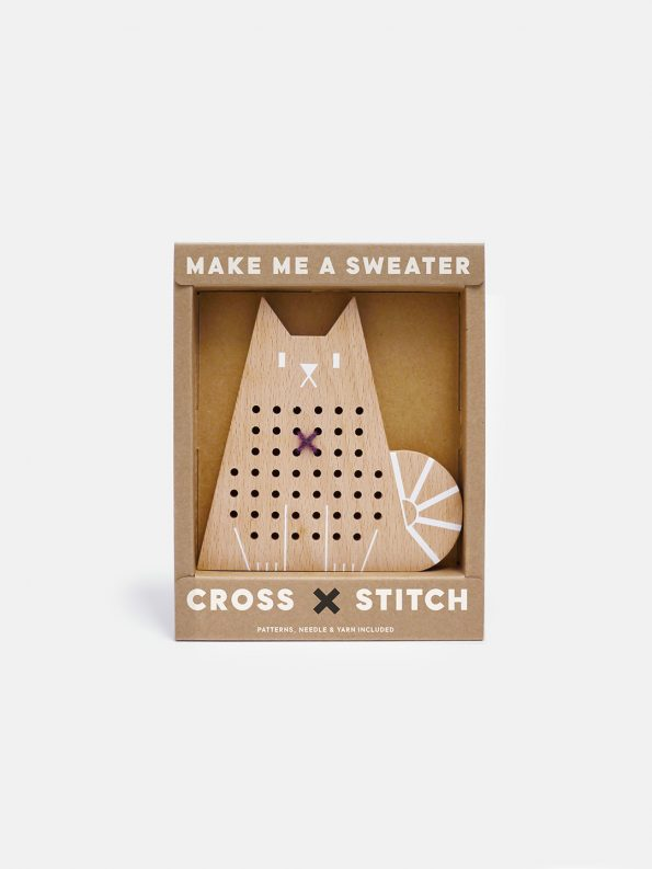Cross Stitch Friends – Cat