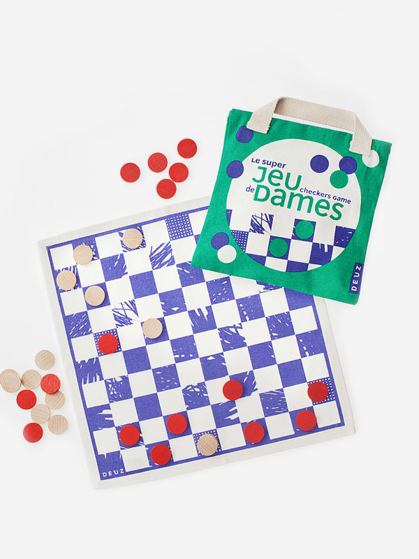 Super Checkers Game