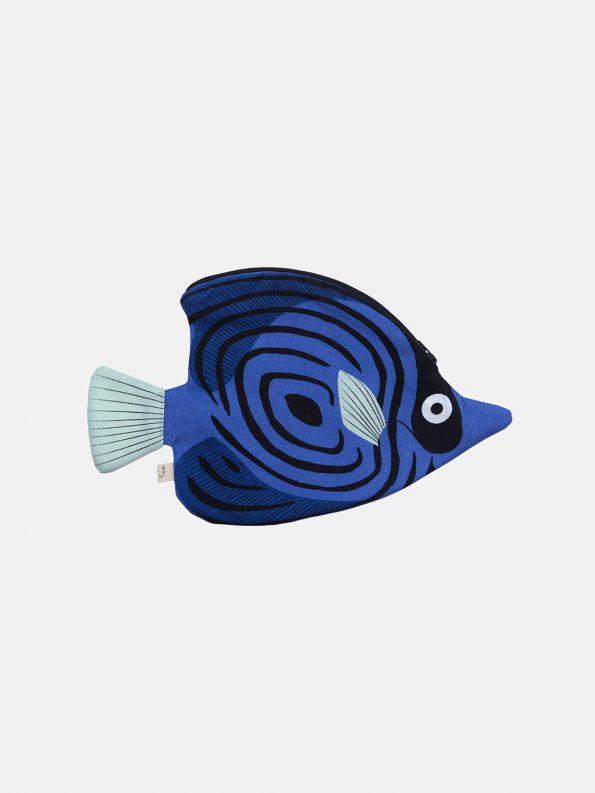 Blue Butterfly Fish Pouch