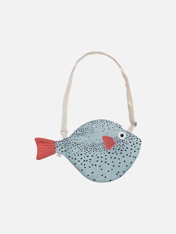 Green Pufferfish Bag