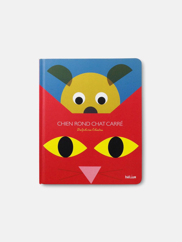 Chien Rond Chat Carré