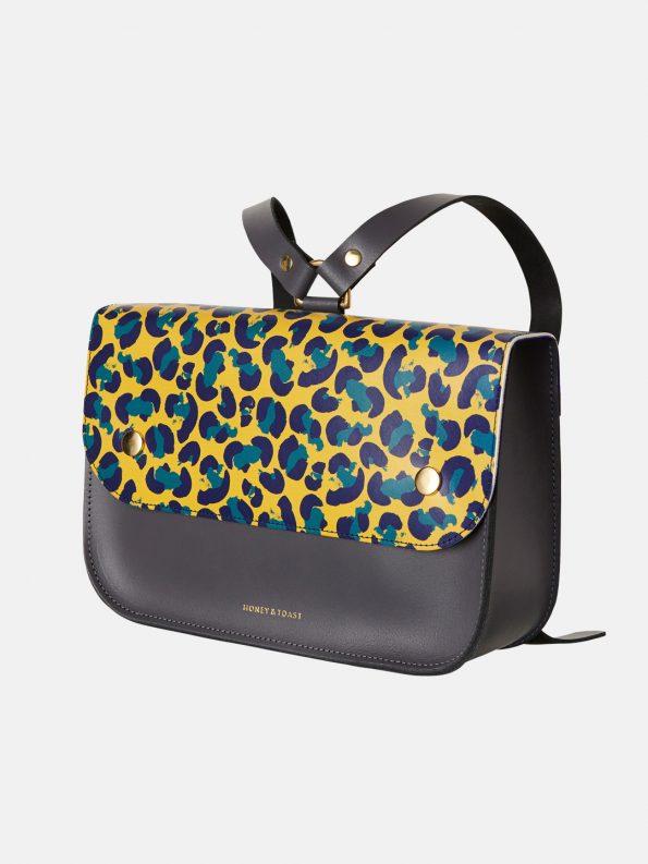 Ellison Satchel – Leopard
