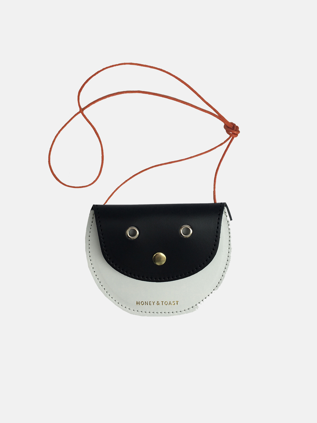 Pippin Purse - Black & White
