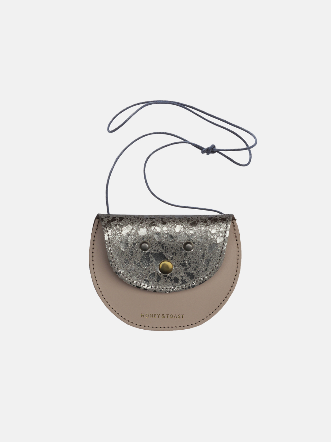 Pippin Purse - Light Gold & Nude