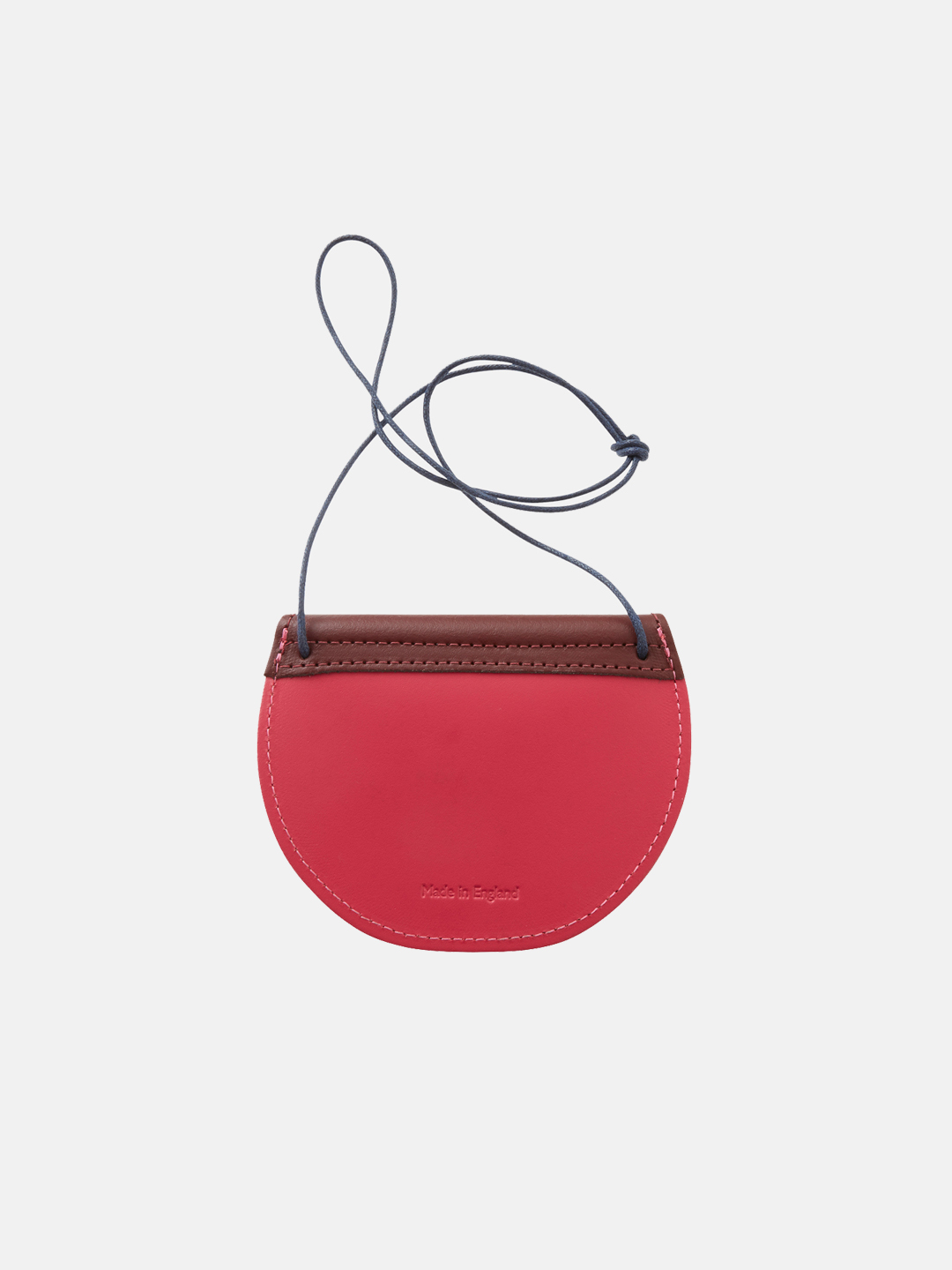 Pippin Purse - Wine Gum Red & Bright Pink