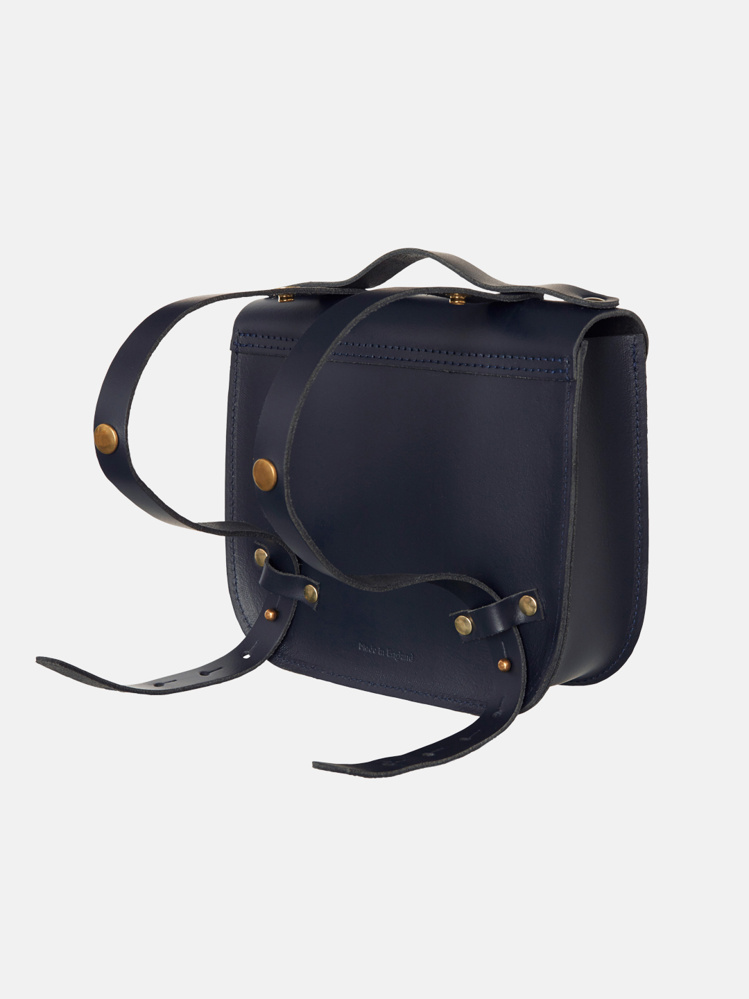 Rocket Scooter Satchel - Navy Blue & Sun Yellow