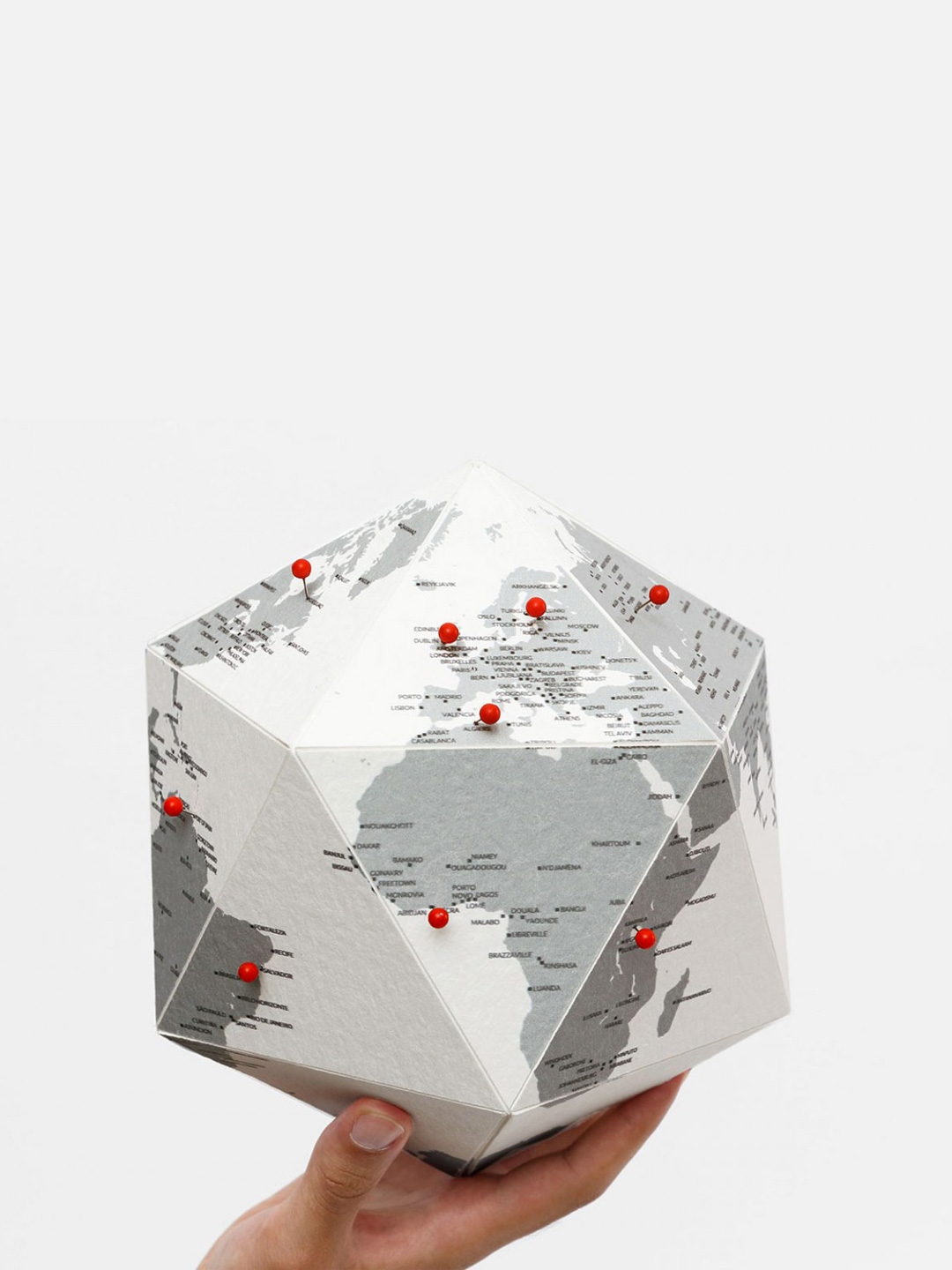 HERE The Personal Globe by Cities - Small