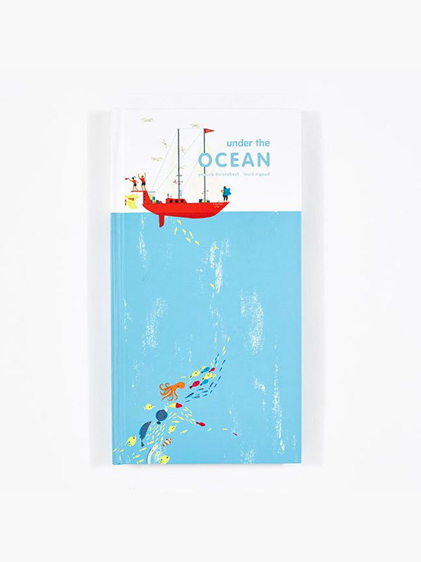 Under The Ocean Pop-Up Book by Anouck Boisrobert