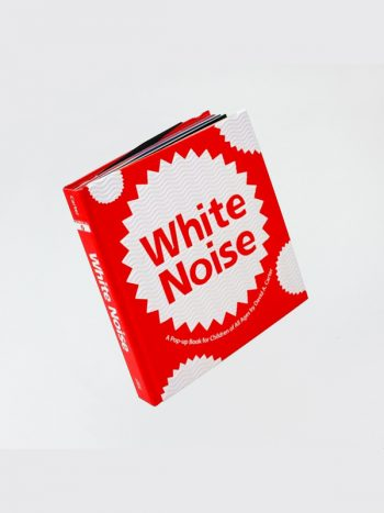 White Noise Pop-Up Book by David E. Carter
