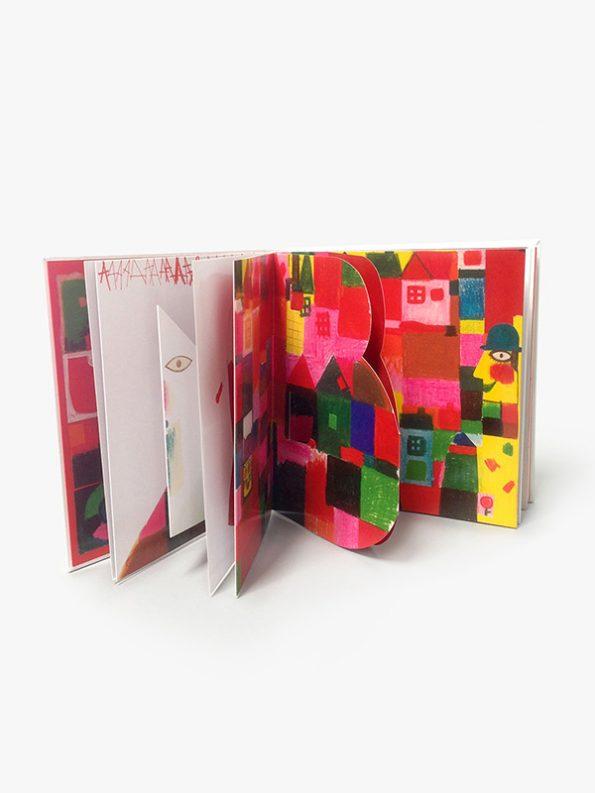 Alphabet Pop-up Book by Kveta Pacovska