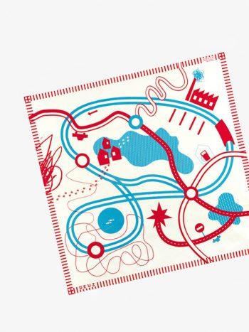 Deuz Tapikids Organic Cotton Playmat - Roads
