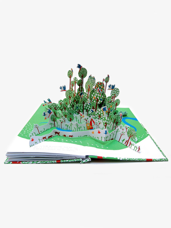 In The Forest Pop-Up Book by Anouk Boisrobert