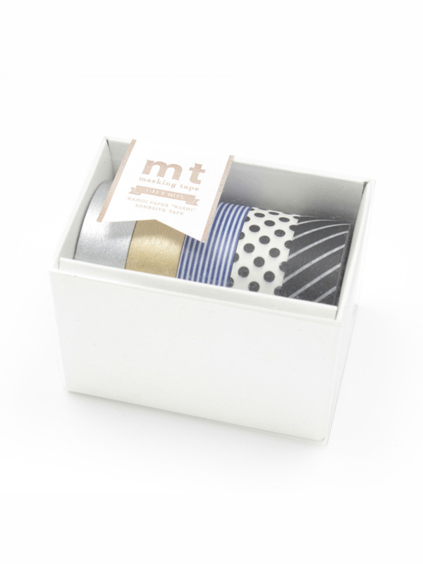 mt Masking Tape Monochrome Gift Box