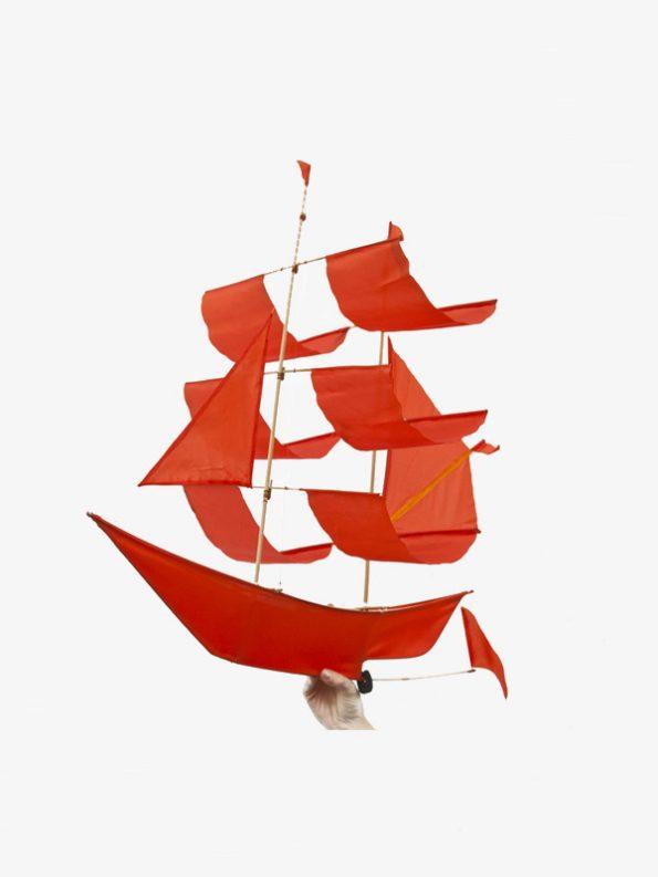 Sailing Ship Kite Flame