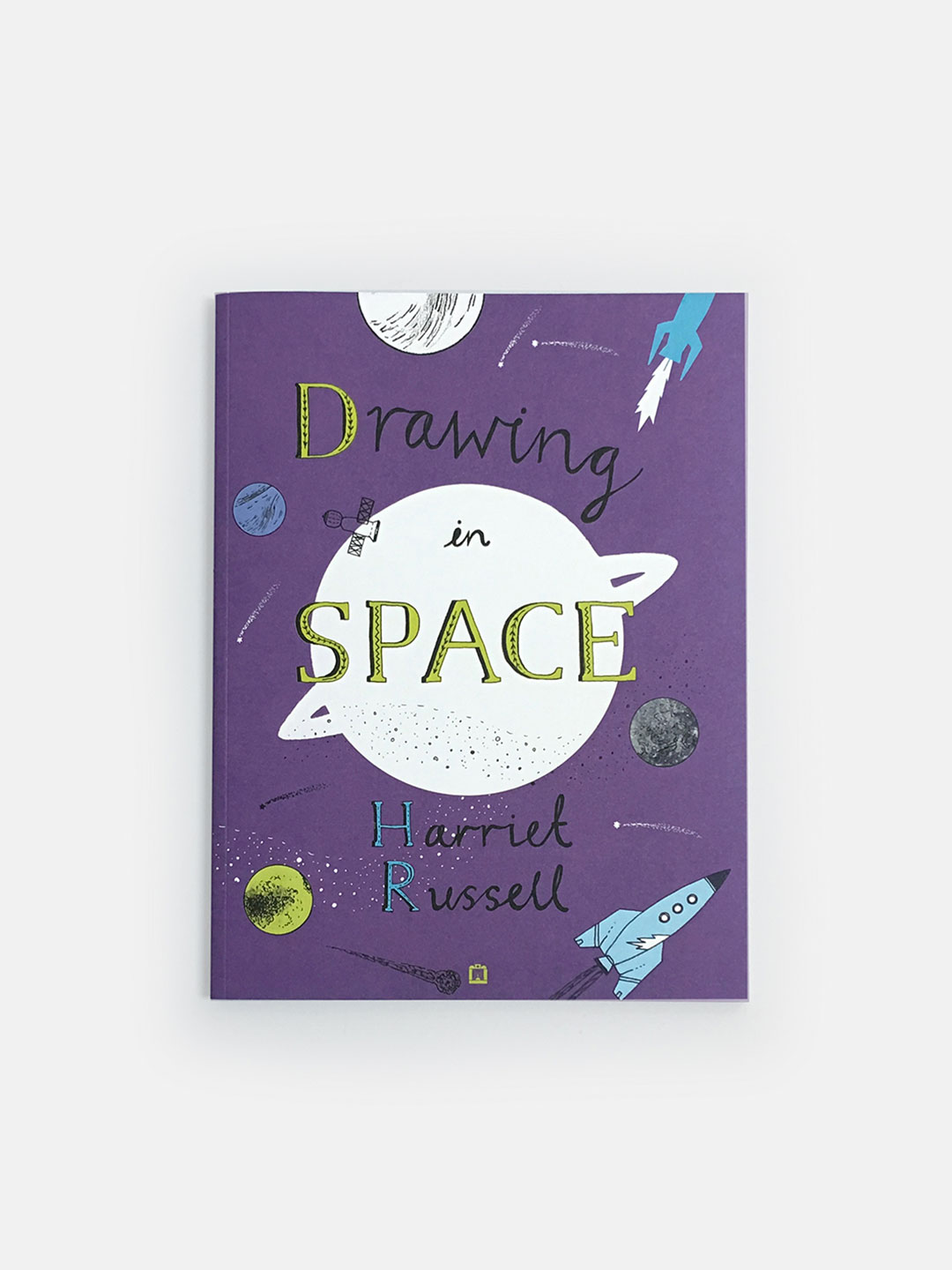 Drawing in Space, kids activity and coloring book
