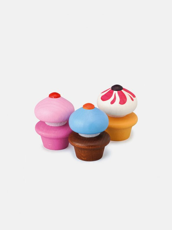 Wooden Sweet – Cupcakes
