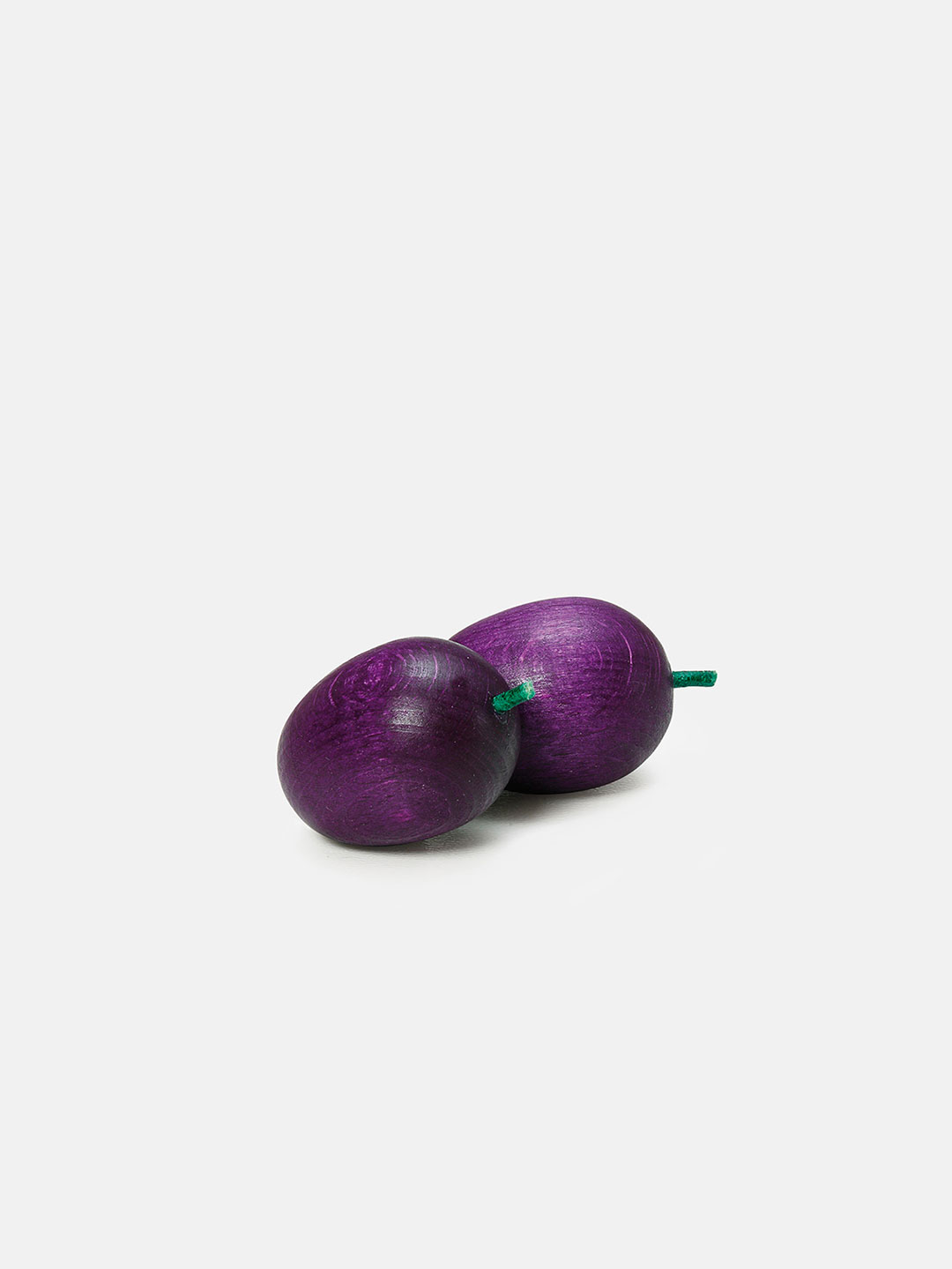 Wooden Fruit - Plum