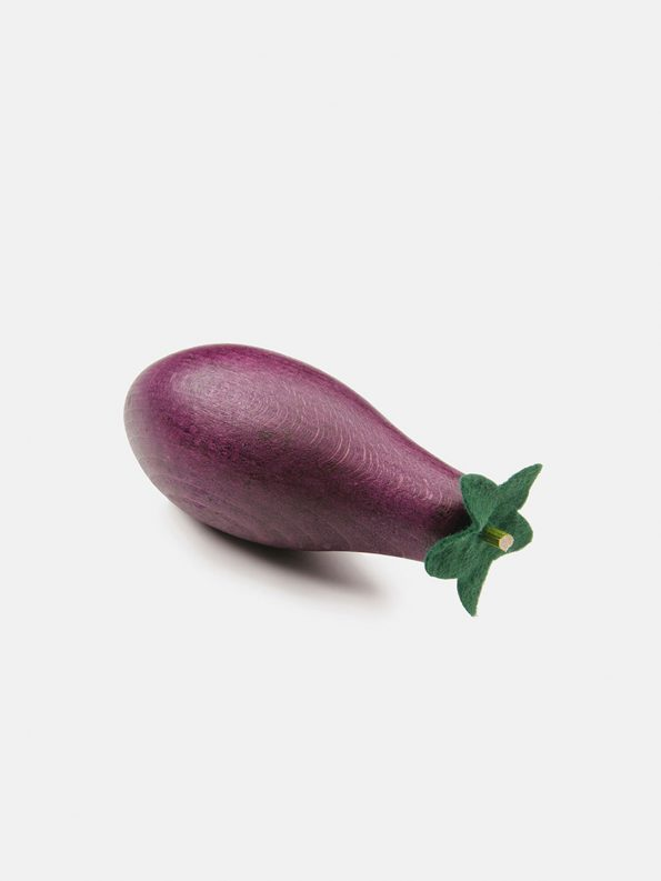 Wooden Vegetable – Eggplant