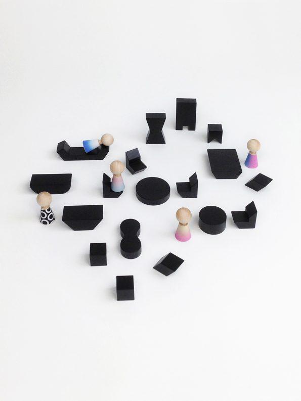 Mini Furniture – Black